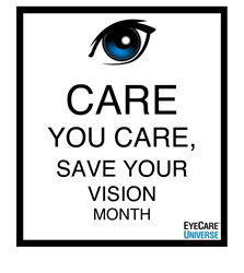 March is Save Your Vision Month
