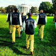 US Paralympic Judo Team Doing a Demonstration on the White House Lawn for President Obama