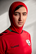 hummel Presents New Football Shirt for the Afghan Football Federation, with the Women's Team Incorporating a Hijab