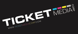 Ticket media Corp Logo