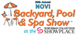 Warm Weather Starts at the Novi Backyard, Pool & Spa Show Opening Friday, March 23