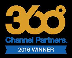 Channel Partners 360⁰ Award logo