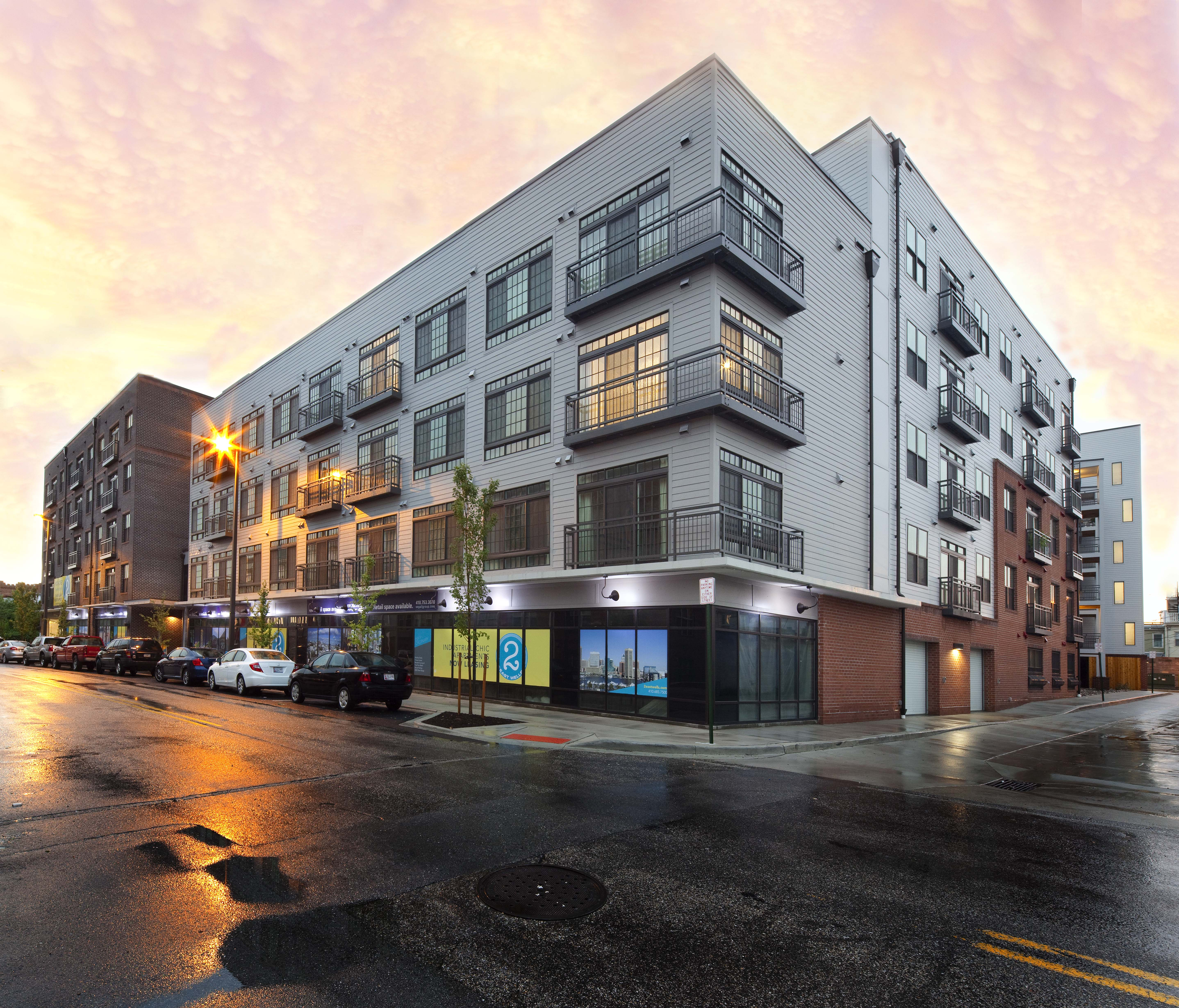 Baltimore Apartment Streets: 2 East Wells Apartments In Federal Hill To Celebrate First