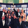 Minuteman Press in Bath celebrates their win for Best Business Services Provider at Bath Life Awards 2016