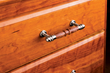 The Traditional Drawer Pull Kit can be used with a variety of materials: wood, acrylic and many others.