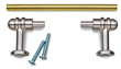 To make turning easy, the Custom Pull Kits use 7mm brass tubes, which are common in many pen kits and allow for turning with a standard pen mandrel.