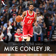 Mike Conley Jr Signs with NCLUSIVE