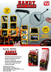 Handy Grill Brush_Summer Grilling_BBQ_Tekno Products