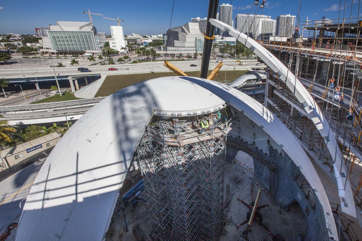 Gate Precast Finishes Complex Miami Planetarium