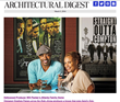 Architectural Digest presents Hollywood producer Will Packer and his wife Heather in one of their favorite spaces -- their home theater in Atlanta.