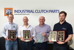 Industrial clutches award from WPT