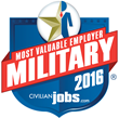 CivilianJobs.com Announces the 2016 Most Valuable Employers (MVE) for Military® Finalists