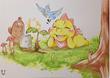 """Trees Make Happiness"" Art Installation Opens at Boston Children's Museum"