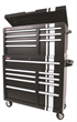 Summit Racing 16-Drawer Professional Tool Chest and Cabinet Combo