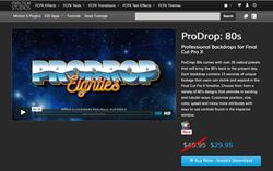 ProDrop 80s - Final Cut Pro X Effects