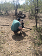 Capturing footage of rhino poaching