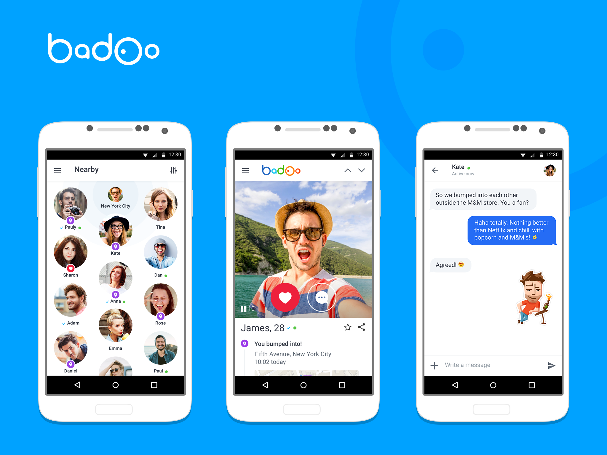 Get Badoo for your mobile phone