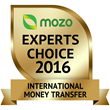 Gold Mozo Experts Choice Award for TorFX