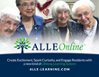 ALLE Learning™ Launches ALLE Online™, a Unique, Affordable Access to the Company's Popular Programs for Senior Lifelong Learners