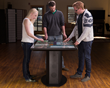 The Ideum Pro 65 is an expandable, hardened, multitouch table with a complete PC workstation.