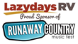 Lazydays RV Partners With Runaway Country Music Festival as Exclusive RV Dealership Sponsor