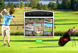 Swinomish Golf Slot Machine Game for press release