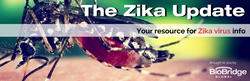 Zika Update page header