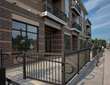 commercial aluminum railings