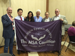 The Multiple System Atrophy Coalition at the 2015 American Autonomic Society Meeting in Stressa Italy