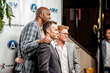 Brian Austin Green, John Salley and Zack Ward Launch West Coast Wall Street in Hollywood