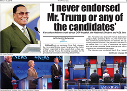 Farrakhan: 'I never endorsed Mr. Trump or any of the candidates'