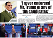 Farrakhan: ' I never endorsed Mr. Trump or any of the candidates.' Exclusive interview for reprint