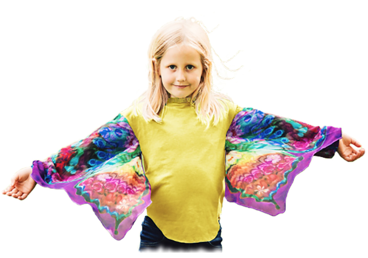 My Wings Help Children Soar!My Wings Dancing Butterfly Shirt ...