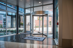 BoonAssist TQ, revolving door, turnstile, optical turnstile, perimeter protection, access control, building security,