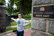 Rockin' Recipient Nathan Englund at Mercyhurst University!
