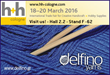 Delfino Yarns is getting ready to welcome visitors in the largest International trade fair for creative handicraft, H & H Cologne, on March 18-20 this year