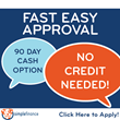 Furniture Distribution Center Immediately Introduces No Credit Needed Furniture Financing With 90 Day Buyout Cash Program