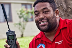 Fiji Red Cross Responds to Cyclone Winston with RAMP Phones Using Mobile Data Collection