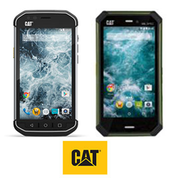 Cat S40 and S50c Rugged Smartphones