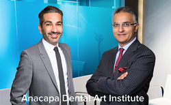 Dr. Mamaly Reshad and Dr. Saj Jivraj of Anacapa Dental Art Institute