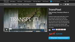 TransPixel - FCPX Transitions