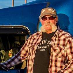 "Owner-operator Marc Springer from the A&E series ""Shipping Wars"""