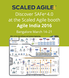 Scaled Agile showcases SAFe 4.0 at Agile india 2016