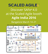 Record Growth of SAFe Practitioners in India Drives Scaled Agile to Showcase SAFe 4.0 at Agile India 2016