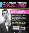 """Panic! At The Disco & Music Choice Team Up to Give Students the Ultimate Chance To Create a Music Video for """"Victorious"""""""