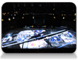 Christie and Solotech Score with On-Ice Projection Mapping Display at Air Canada Centre in Toronto