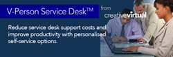 V-Person Service Desk from Creative Virtual