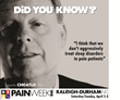 Come to Raleigh for PAINWeekEnd: Attend a Pain Management CE/CME Conference for The Main Street Practitioner on April 2 and 3