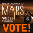 ROCKET21 Opens Public Voting for NASA Journey to Mars Voices Challenge Winners