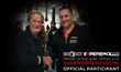 Valentino Balboni, former chief test driver of Lamborghini, and Benoît Boningue, founder and general manager of 100|OCT, seal the deal. Valentino will join the 100|OCT Experience 2016, a luxury road trip through the American West stopping at the best hote